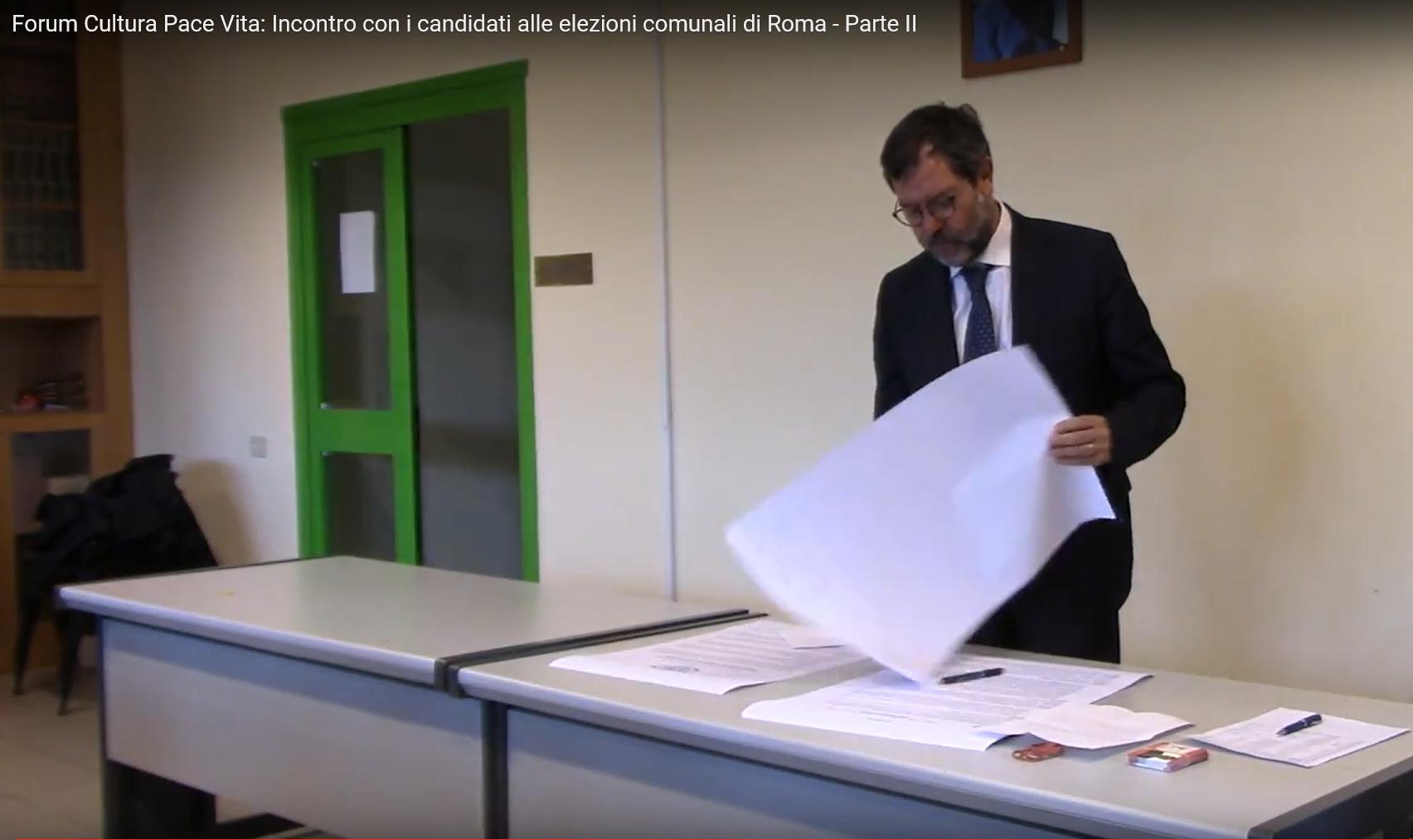 """Progetto InFoRoma del Forum """"Cultura, Pace e Vita"""""""